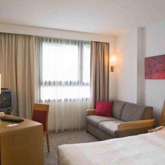 Отель Novotel Brussels Airport 3* Улучшенный номер с различными типами кроватей фото 4