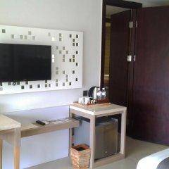 Отель Jimbaran Bay Beach Resort & Spa 4* Улучшенный номер с различными типами кроватей фото 8