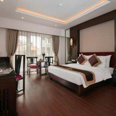 Quoc Hoa Premier Hotel 4* Представительский номер разные типы кроватей фото 3