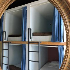 Capsule Hostel Mexico City Кровать в общем номере фото 14