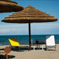 Hotel Bellerofonte Римини пляж
