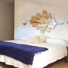 Отель Hostal Restaurante Nevandi Стандартный номер с различными типами кроватей фото 8