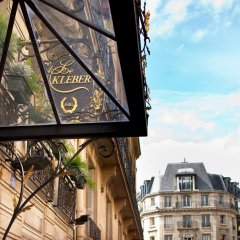 Отель Kleber Champs-Élysées Tour-Eiffel Paris балкон