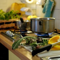 Отель Agriturismo Villa Selvatico Италия, Вигонца - отзывы, цены и фото номеров - забронировать отель Agriturismo Villa Selvatico онлайн питание фото 2