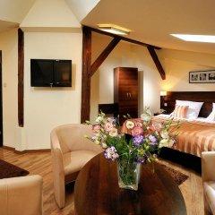 Отель Spatz Aparthotel 3* Стандартный номер с различными типами кроватей фото 11