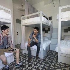 Отель Cacha bed Кровать в общем номере с двухъярусной кроватью фото 9