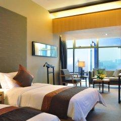 Jianguo Hotel Guangzhou 4* Стандартный номер с разными типами кроватей фото 3