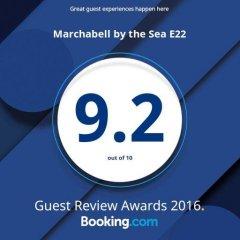 Отель Marchabell by the Sea E22 Апартаменты с различными типами кроватей фото 37