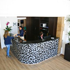 Отель La Carabela Испания, Курорт Росес - отзывы, цены и фото номеров - забронировать отель La Carabela онлайн интерьер отеля