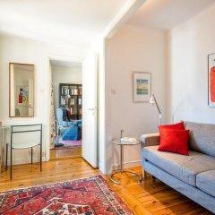 Апартаменты Collectors Victory Apartments Стокгольм комната для гостей фото 4