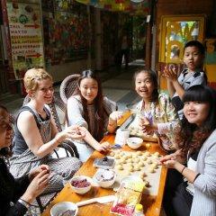 Hello Chengdu International Youth Hostel Стандартный номер с различными типами кроватей фото 4