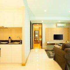 Отель Rocco Huahin Condominium Люкс с различными типами кроватей фото 12