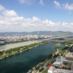Отель Urban Flats Vienna Danube балкон