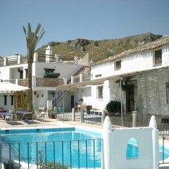 Отель Alojamientos Rurales Cortijo Del Norte Al Sur De Granada Дуркаль бассейн фото 2