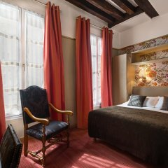 Отель Hôtel Saint Paul Rive Gauche 4* Улучшенный номер с различными типами кроватей фото 2