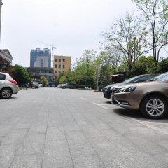 Отель Hanting Express Ji An Jin Gang Shan Anenue Branch парковка