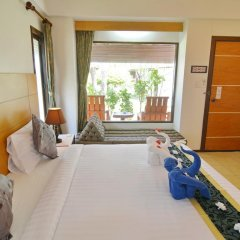 Отель Golden Bay Cottage 3* Бунгало Делюкс с различными типами кроватей фото 31