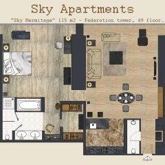 Апартаменты Sky Apartments Rentals Service Улучшенные апартаменты с различными типами кроватей фото 3
