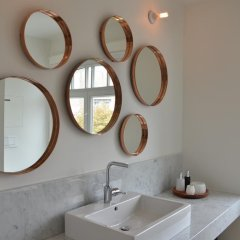 Отель Chambre dhôtes Zita Brussels ванная