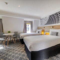 Отель Comfort Inn & Suites Kings Cross Лондон комната для гостей фото 2