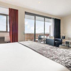 Отель ILUNION Barcelona 4* Улучшенный номер с различными типами кроватей фото 19