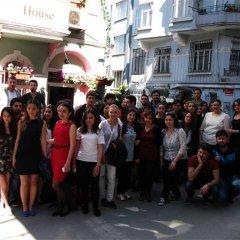 Хостел Istanbul Taksim Green House Кровать в общем номере с двухъярусной кроватью фото 2