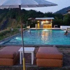 Отель Cape Cafe Bungalow Ланта бассейн