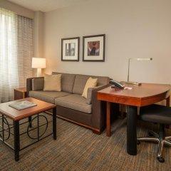 Отель Residence Inn Bethesda Downtown США, Бетесда - отзывы, цены и фото номеров - забронировать отель Residence Inn Bethesda Downtown онлайн комната для гостей фото 4