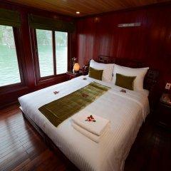 Отель Halong Royal Palace Cruise 3* Номер Делюкс с двуспальной кроватью фото 3