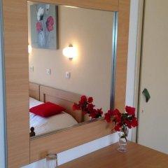 Zefyros Hotel Стандартный номер с двуспальной кроватью фото 10