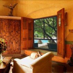 Отель Hacienda de Los Santos 4* Улучшенный люкс с различными типами кроватей фото 2