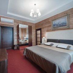 Гостиница Заречье Номер Комфорт двуспальная кровать фото 6