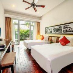 Отель Hoi An Beach Resort 4* Номер Делюкс с различными типами кроватей фото 3