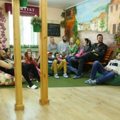 Хостел ARTIST на Курской детские мероприятия