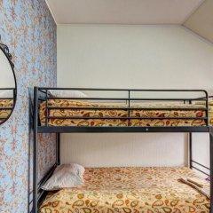 Хостел Крыша Кровать в мужском общем номере двухъярусные кровати фото 26