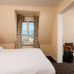 Small Luxury Hotel Ambassador Zürich 4* Номер Делюкс с двуспальной кроватью фото 6