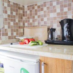 Апартаменты Feyza Apartments Студия Делюкс с различными типами кроватей фото 9