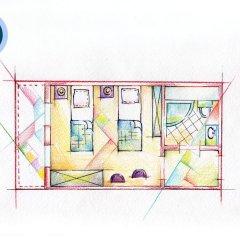 Гостиница ПриютПанды Улучшенный номер с различными типами кроватей фото 8