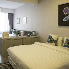 Отель Ratchadamnoen Residence 3* Улучшенный номер с различными типами кроватей фото 11