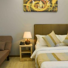 Отель Coconut Tree Hulhuvilla Beach Мале комната для гостей фото 5