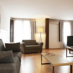 Апартаменты Aspasios Plaza Real Apartments Студия Эконом с различными типами кроватей фото 4