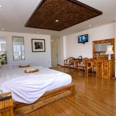 Rex Hotel and Apartment 3* Семейный номер Делюкс с двуспальной кроватью фото 6