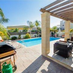 Отель Oceanview Villa 089 Кипр, Протарас - отзывы, цены и фото номеров - забронировать отель Oceanview Villa 089 онлайн бассейн фото 3