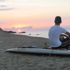 Отель Camping Globo Rojo пляж