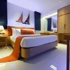 Отель Deep Blue Z10 Pattaya Стандартный номер с различными типами кроватей