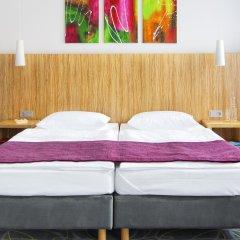 Отель City-herberge Dresden 3* Стандартный номер с двуспальной кроватью (общая ванная комната)