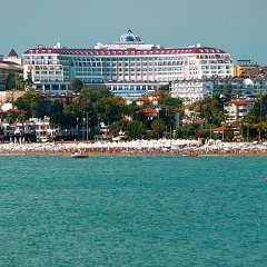 Side Prenses Resort Hotel & Spa Турция, Анталья - 3 отзыва об отеле, цены и фото номеров - забронировать отель Side Prenses Resort Hotel & Spa онлайн пляж фото 2