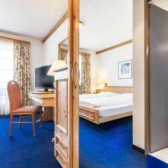 Отель Bünda Davos Швейцария, Давос - отзывы, цены и фото номеров - забронировать отель Bünda Davos онлайн комната для гостей фото 4