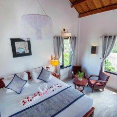 Отель An Bang Garden Homestay 3* Стандартный номер с различными типами кроватей фото 4