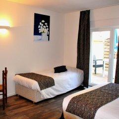 Hotel aux Bruyeres комната для гостей фото 5